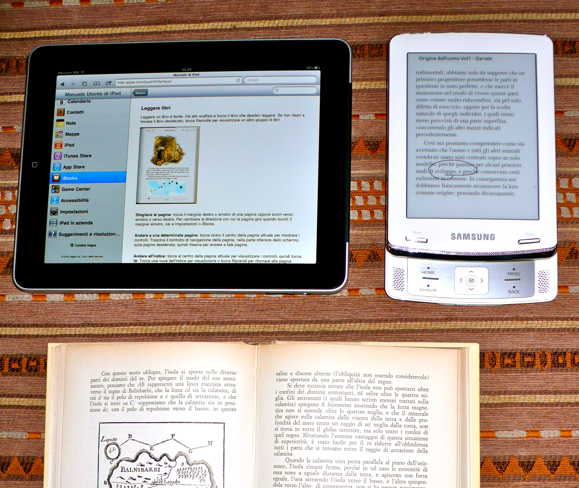 tablet ebook reader del mio